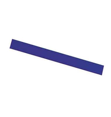 Magnetstreifen 300 x 10mm blau 6 Stück