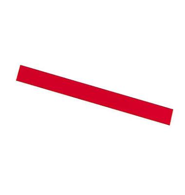 Magnetstreifen 300 x 10mm rot  6 Stück