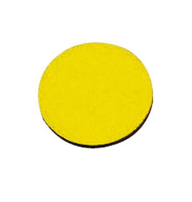 Magnetsymbole Kreise 20mm gelb 05 15 St