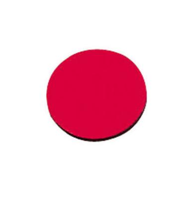 Magnetsymbole Kreise 20mm rot 02 15 St