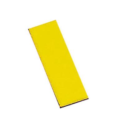 Magnetsymbole Rechtecke gelb 10x30mm 32 Stück