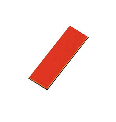 Magnetsymbole Rechtecke rot 10x30mm 32 St
