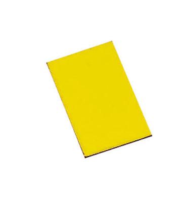 Magnetsymbole 20 x 30mm gelb 16 Stück
