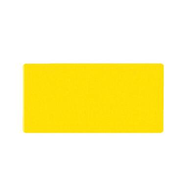 Magnetsymbole 20 x 60 x 1,7mm gelb 8 Stück