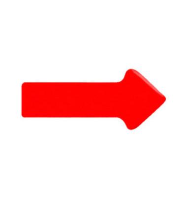 Magnetsymbole 20 x 35 x 1,7mm rot 12 Stück
