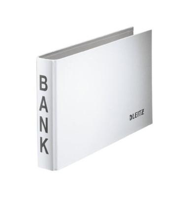 Bankordner 1002 weiß 20mm-2-Ring-Mechanik mit Aufschrift BANK