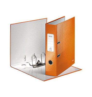 180° WOW 10050044 orange Ordner A4 80mm breit