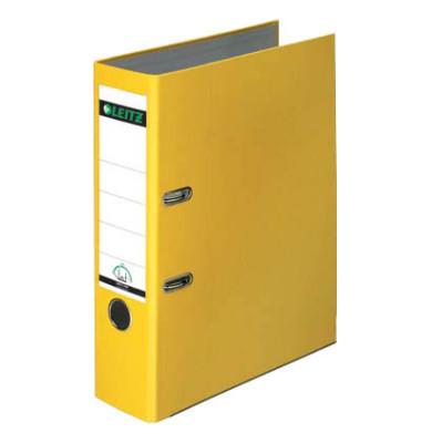 180° Plastik 10105015 gelb Ordner A4 80mm breit