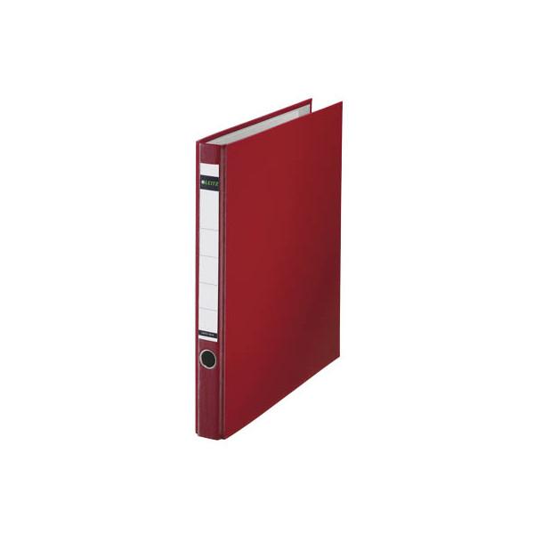 leitz plastik ringordner 10140025 rot ordner a4 35mm schmal. Black Bedroom Furniture Sets. Home Design Ideas