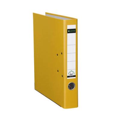180° Plastik 10155015 gelb Ordner A4 52mm schmal