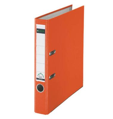 180° Plastik 10155045 orange Ordner A4 52mm schmal