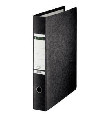 Ordner 1072 A3-hoch 77mm schwarz Recycling mit Griffloch