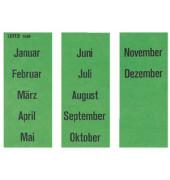 Inhaltsschilder 1530 Monate grün 60x25,5mm selbstklebend 100 Stück