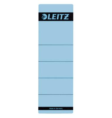 Rückenschilder 1642-00-35 61 x 192 mm blau 10 Stück zum aufkleben