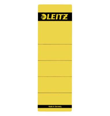 Rückenschilder 1642-00-15 61 x 192 mm gelb 10 Stück zum aufkleben