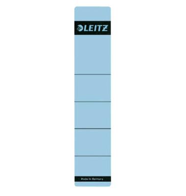 Rückenschilder 1643-00-35 39 x 192 mm blau 10 Stück zum aufkleben