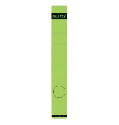 Rückenschilder 1648-00-55 39 x 285 mm grün 10 Stück zum aufkleben
