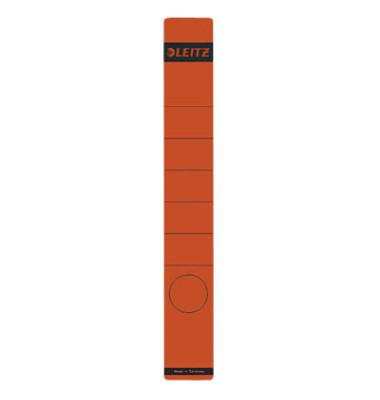 Rückenschilder 1648-00-25 39 x 285 mm rot 10 Stück zum aufkleben