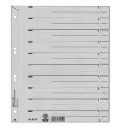 Trennblätter 1650 A4 grau 200g 100 Blatt Recycling