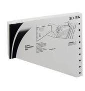 Staffel-Trennblätter 1651 A4 überbreit grau 200g Karton 100 Blatt Recycling