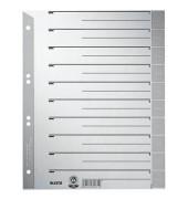 Trennblätter 1652 A4 grau/grau farbige Taben 230g 100 Blatt Recycling