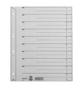 Trennblätter 1654 A4 grau 200g 100 Blatt Recycling