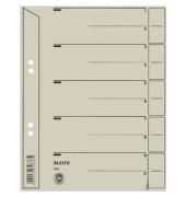 Trennblätter 1655 A5 grau 200g 100 Blatt Recycling