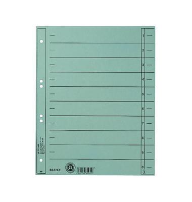 Trennblätter 1658 A4 hellblau 230g Karton 100 Blatt Recycling