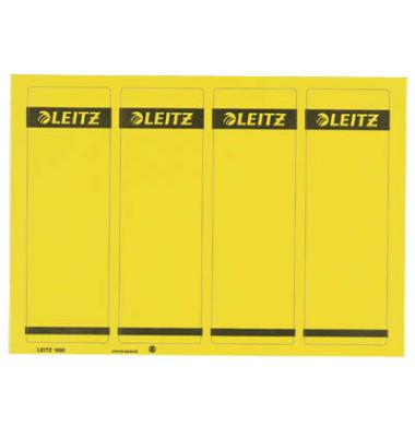Rückenschilder 1685-20-15 61 x 192 mm gelb 100 Stück zum aufkleben