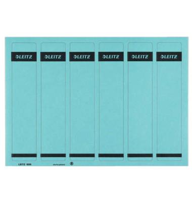 Rückenschilder 1686-20-35 39 x 192 mm blau 150 Stück zum aufkleben