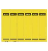 Rückenschilder 1686-20-15 39 x 192 mm gelb 150 Stück zum aufkleben