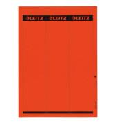 Rückenschilder 1687-00-25 61 x 285 mm rot 75 Stück zum aufkleben