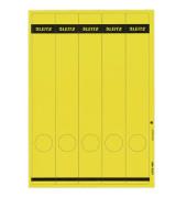Rückenschilder 1688-00-15 39 x 285 mm gelb 125 Stück zum aufkleben