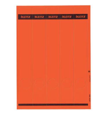 Rückenschilder 1688-00-25 rot 39 x 285 mm rot 125 Stück zum aufkleben
