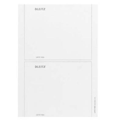 Rückenschilder 1690 176 x 146 mm weiß zum einstecken 10 Stück für Prestige, Active und Solid