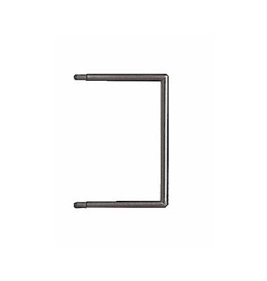 1721 Abheftbügel Flexofil für LEI1719 schwarz 85 x 60mm