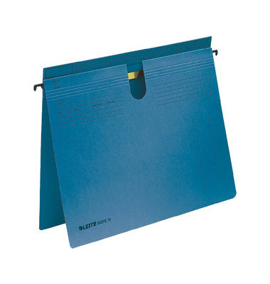Hängehefter Serie 18 1814 A4 250g Karton blau kaufmännische Heftung / Amtsheftung