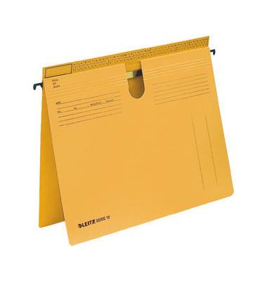 Hängehefter Serie 18 1814 A4 250g Karton gelb kaufmännische Heftung / Amtsheftung