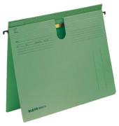 Hängehefter A4 Serie 18 250g Manilakarton grün kaufmännische Heftung / Amtsheftung 18140055