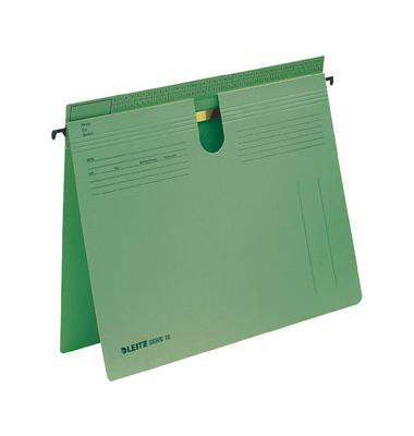 Hängehefter Serie 18 1814 A4 250g Karton grün kaufmännische Heftung / Amtsheftung