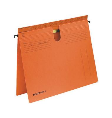 Hängehefter Serie 18 1814 A4 250g Karton orange kaufmännische Heftung / Amtsheftung