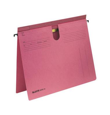 Hängehefter Serie 18 1814 A4 250g Karton rot kaufmännische Heftung / Amtsheftung