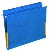 Hängetasche A4 SERIE 18 blau Manilakarton seitliche Frösche 18160035