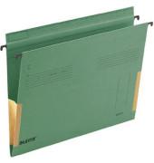 Hängetasche A4 SERIE 18 grün Manilakarton seitliche Frösche 18160055