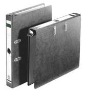 Hängeordner A4 schwarz 50mm mit Griffloch 18220000 Recycling