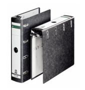 Hängeordner 2x A5-quer schwarz 75mm 2x 2 Ringmechaniken Hartpappe Recycling 18240000