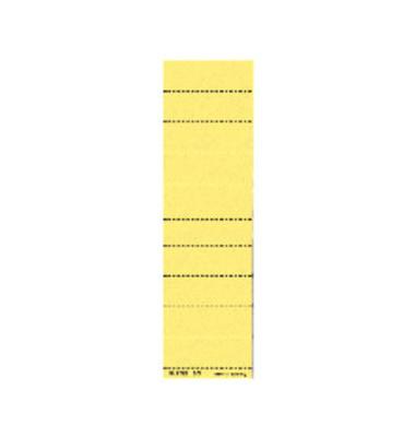 Beschriftungsschilder 4zlg. gelb 60mm breit 100 St