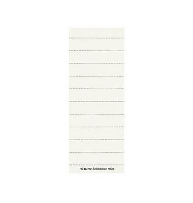 Beschriftungsschilder 3zlg. weiß 60mm breit 100 Stück