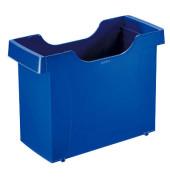 Hängemappenbox Uni-Box Plus 1908 blau bis 20 Mappen leer stapelbar