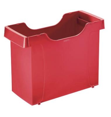 Hängemappenbox ungefüllt rot 370x260x162 Uni-Box